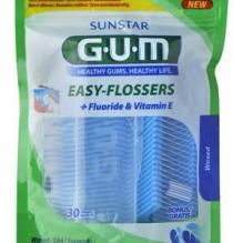 GUM® Easy-Flossers Mugav kaasaskantav hambaniit. 30tk