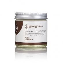 GEORGANICS looduslik orgaaniline hambapasta kookosõli baasil (puhas kookos) 60 ml
